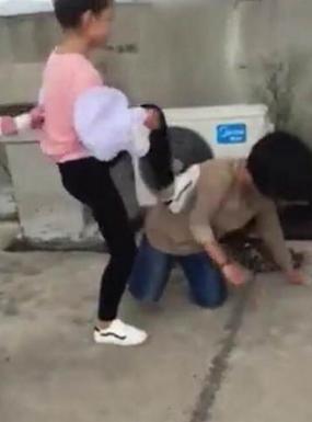 少女遭暴力欺辱