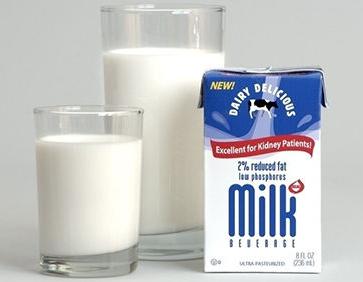 喝完牛奶后别吃这些食物